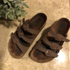 """Birkenstock """"Florida"""" Soft Footbed Sandals"""